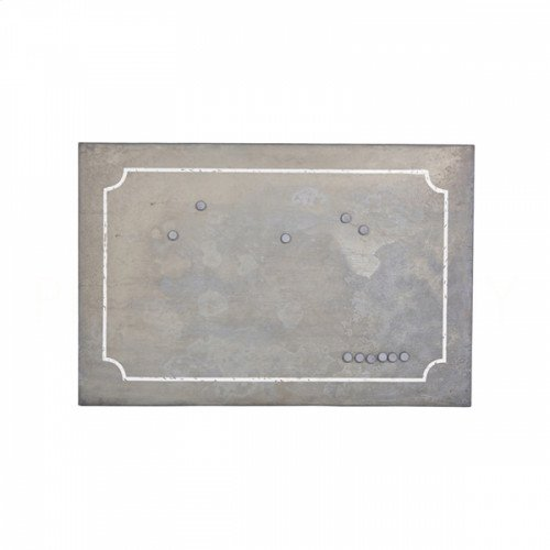 Large Zinc Magnet Board