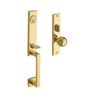 Lifetime Polished Brass New York Entrance Trim Product Image