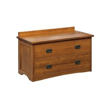Bungalow Lift Top Blanket Chest-cedar lined
