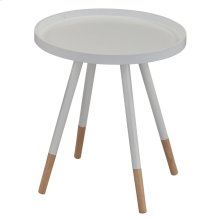 Hue Accent Table in White