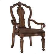 San Mateo Carved Back Arm Chair Product Image