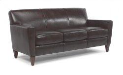 Digby Leather Three-Cushion Sofa Product Image