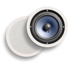 RCi Series round in-ceiling speaker with 8-inch driver in BLACK