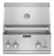 """27"""" Width 60K Total BTUs 454 sq. in. Primary Cooking Area(Stainless Steel)"""