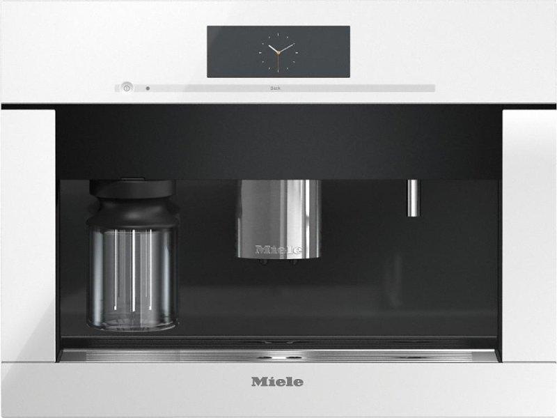 Miele Cva6805brilliantwhite Cva 6805 Built In Coffee Machine With