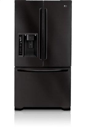 3-Door French Door Refrigerator with Ice and Water Dispenser (24.7 cu. ft.)