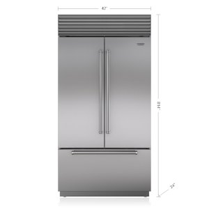 "Subzero42"" Classic French Door Refrigerator/Freezer with Internal Dispenser"