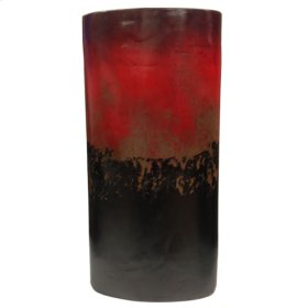 Red & Black : Conic Large Planter