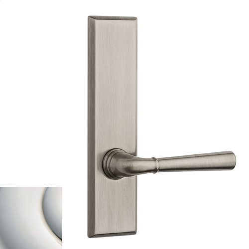 Polished Nickel with Lifetime Finish Traditional L027 Lever Screen Door