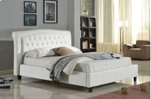 7519 White California King Bed
