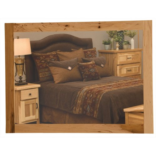 Mirror - Natural Hickory - With glass