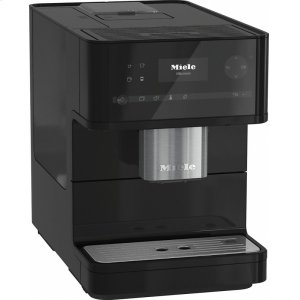CM 6150 Countertop coffee machine with OneTouch for Two for perfect coffee enjoyment. - OBSIDIAN BLACK