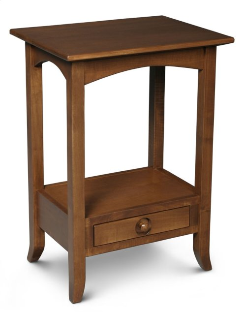 Shaker Hill 1-Drawer Telephone Table