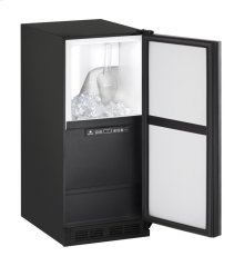 "1000 Series 15"" Clear Ice Machine With Integrated Solid Finish and Field Reversible Door Swing"