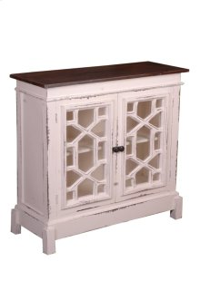 Sunset Trading Cottage Lattice Cabinet - Sunset Trading