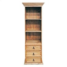 Bookcase W/3 Drawers