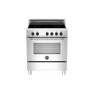 30 4-Induction Zones, Electric Oven Stainless -