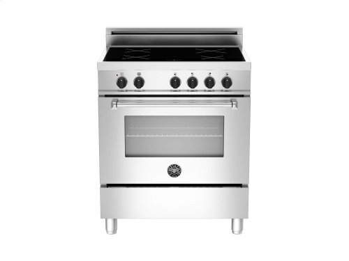 30 4-Induction Zones, Electric Oven Stainless