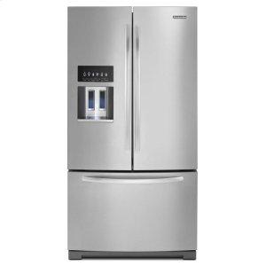 KitchenAid27 Cu. Ft. Standard-Depth French Door Refrigerator, Architect® Series Ii - Monochromatic Stainless Steel