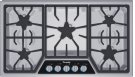 36 inch Masterpiece® Series Gas Cooktop SGSL365KS Product Image