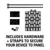 Sanus Streaming Device Panel For Most Small Devices Up To 3 Lbs.