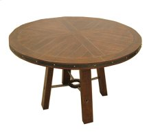 Emerald Home Castlegate Dining Table Round Pine D942dc-12