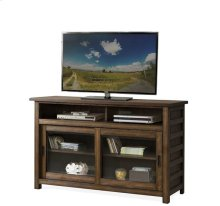 Perspectives 54-Inch TV Console Brushed Acacia finish