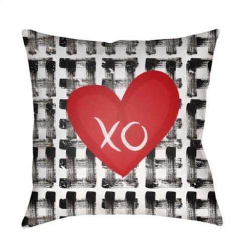 """Valentine HEART-001 18"""" x 18"""""""
