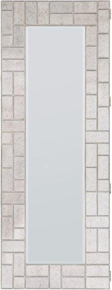 Melange Lumiere Floor Mirror w/jewelry storage