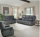 Manual Dual Reclining Loveseat Product Image