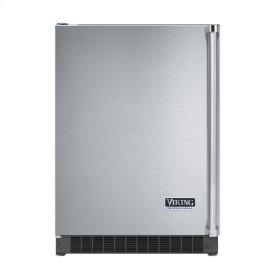 """Stainless Steel 24"""" Solid Door Beverage Center - VUAR (Left Hinge Solid Door)"""