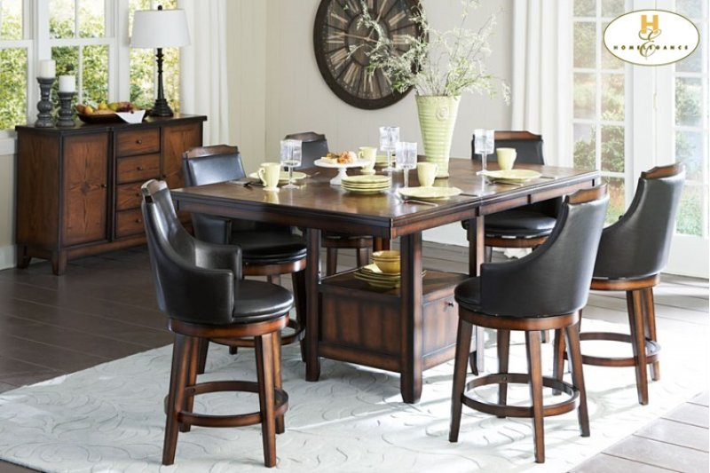 544736xl In By Homelegance In Orange Ca Counter Height Table With