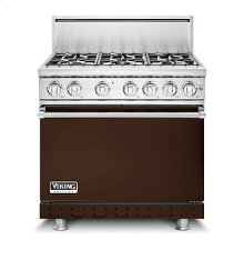 "36""W. Gas Sealed Burner Range, Natural Gas, Solid"