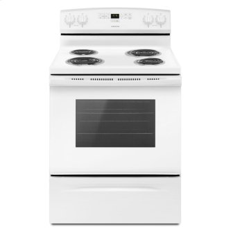 30-inch Amana™ Electric Range with Bake Assist Temps