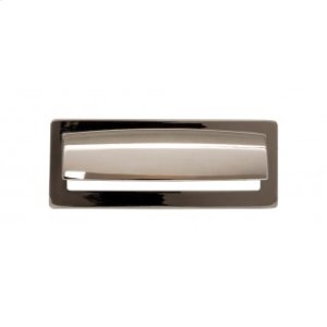 Hollin Cup Pull 3 3/4 Inch - Polished Nickel