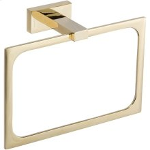 Axel Bath Towel Ring - French Gold