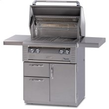 30 ALL INFRA RED GRILL WITH DELUXE CART
