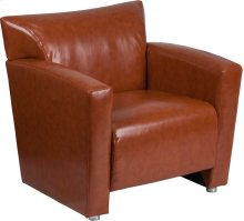 HERCULES Majesty Series Cognac Leather Chair