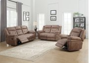 "Anastasia Glider Recliner, Cocoa, 42.5""x39.5""x43"" Product Image"