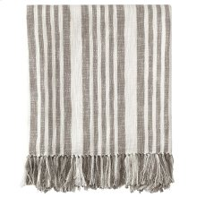 Flagstone Throw, PEWTER, THRW