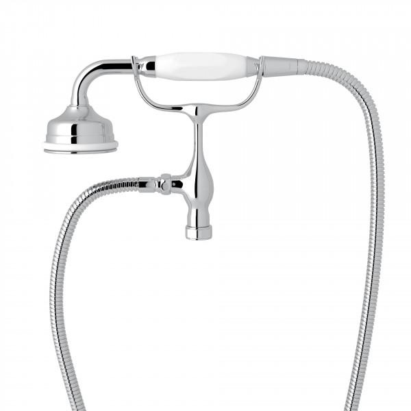 Polished Chrome Perrin & Rowe Edwardian Handshower/Cradle