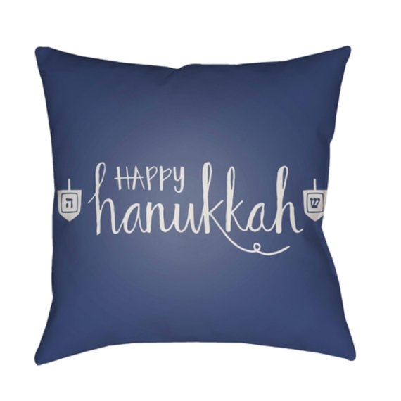 "Happy Hannukah HDY-027 20"" x 20"""