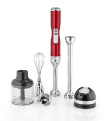 Pro Line® Series 5-Speed Cordless Hand Blender - Candy Apple Red