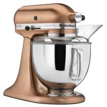Custom Metallic® Series 5 Quart Tilt-Head Stand Mixer - Satin Copper