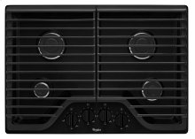 Whirlpool® 30 inch Gas Cooktop with Multiple SpeedHeat Burners