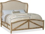 Roslyn County Cal King Deconstructed Uph Panel Bed Product Image