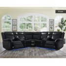 """Levin Wedge Backrest Black 35""""x29""""x10"""" overall:40""""x40""""x40"""" Product Image"""