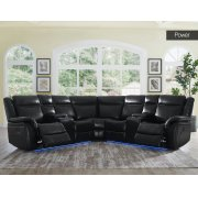 "Levin Wedge Backrest Black 35""x29""x10"" overall:40""x40""x40"" Product Image"