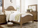 Down Home Bed (King) - Oatmeal Product Image