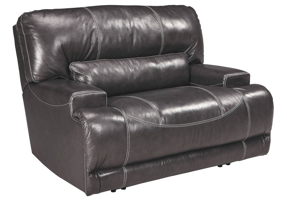 Signature Design By Ashley Wide Seat Power Recliner